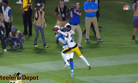 Cameron Sutton pass defensed