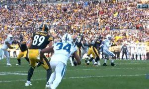 Vance McDonald Touchdown