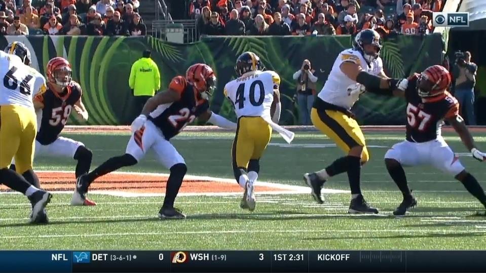 Kerrith Whyte Jr. Steelers