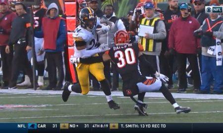 Benny Snell versus Bengals 2019