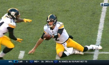 Mason Rudolph injury