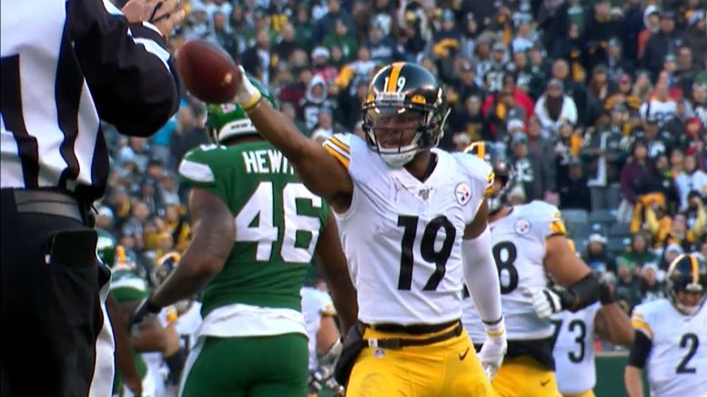 Steelers receiver JuJu Smith-Schuster