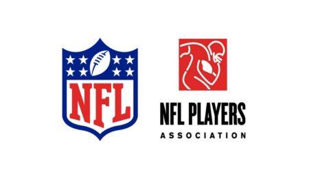 NFL, NFLPA logos