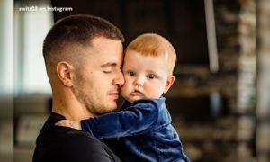 Ryan Switzer and his son