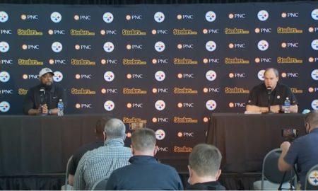 Steelers HC Mike Tomlin, GM Kevin Colbert