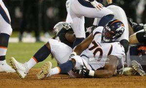 Denver Broncos' Ja'Wuan James