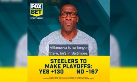 Sharpe Steelers playoffs 2021 Fox Bet