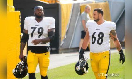 Steelers Anthony Coyle and Rashaad Coward