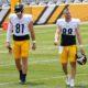Pat Freiermuth and Zach Gentry