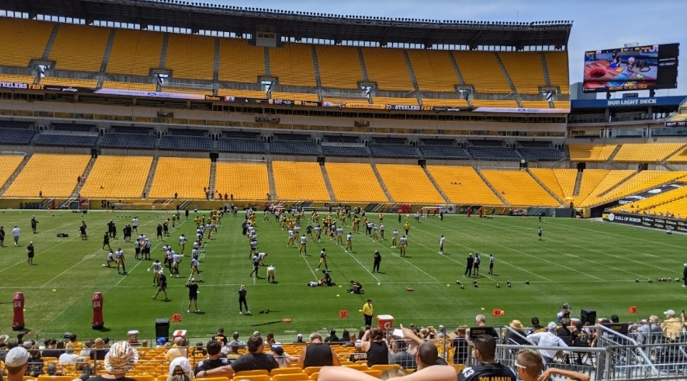 Steelers training camp Day 4