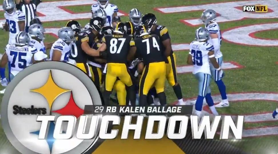 Kalen Ballade touchdown