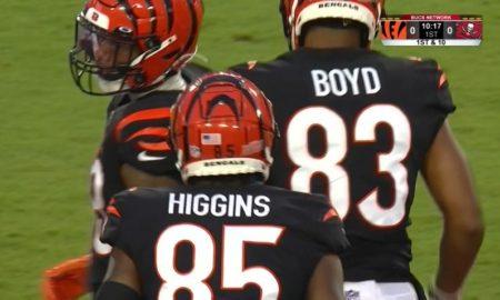Tee Higgins and Tyler Boyd